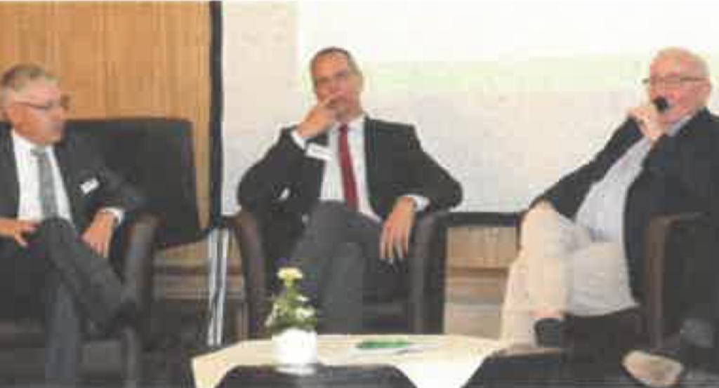 Walter Peters nimmt am Experten-Talk des Futtermittelhandelstages teil